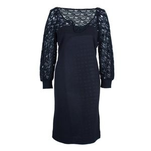 NWOT See by Chloe | Black Lace Cotton Dress